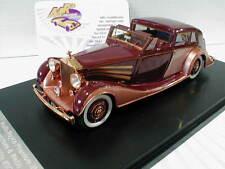 "GLM 43204501 # Rolls-Royce Phantom III anno di costruzione 1937 in ""Maroon Marrone"" 1:43"