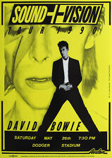 Reproduction David Bowie Poster, Sound & Vision