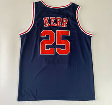 Vintage Steve Kerr #25 Basketball Jerseys All Stitched Custom All Names