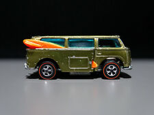 Vintage Hot Wheels Redline Olive Beach Bomb
