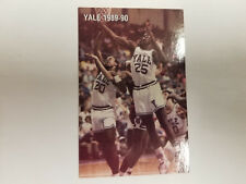 Yale University Bulldogs 1989/90 Men's Basketball Pocket Schedule - Demrey's