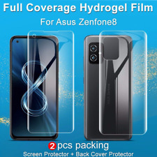imak For Asus Zenfone 8, 3D Curved Soft Hydrogel Film Full Screen Protector
