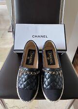 SALE! Chanel Lambskin Espadrilles