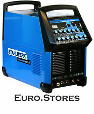 STAHLWERK WELDER AC/DC TIG 200 Pulse Plasma Cutter Hf Inverter Welding Genuine