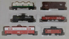 NEW SEALED BACHMANN - HO Scale - 6 CARS - Gramps, Quaker State, CN, CANFOR, CP
