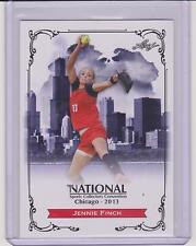 2013 LEAF NATIONAL JENNIE FINCH SOFTBALL CARD ~ OLYMPICS ARIZONA USA ~ MULTIPLES