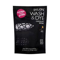 DYLON WASH & DYE - CHOCOLATE BROWN MACHINE FABRIC DYE