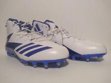 Adidas Football Cleats Sz 15 white/blue