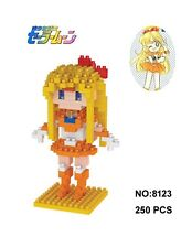 Anime Sailor Moon Venus Mizuno Ami Aino Diamond Mini Building Nano Blocks Toy(9+