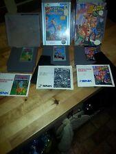 3-RARE original NES collectible video games-IKARI WARRIOR 1,2,3