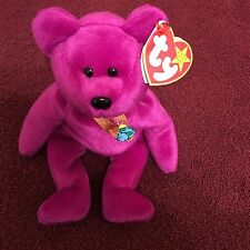 Vintage Ty Beanie Babies Millennium Bear - Perfect Condition