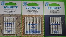 20 aiguilles pour machines à coudre SCHMETZ stretch,Jersey,jeans 130/705 H- KIT