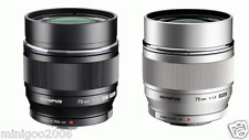 (NEW other) Olympus M.ZUIKO DIGITAL ED 75mm F1.8 75 mm F/1.8 Lens*2 Colors*Offer