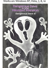 Dangerous Dave in the Haunted Mansion + Risky Rescue + Dave Goez Nutz PC Game