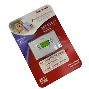 Honeywell 7 Day Programmable Thermostat Backlit Precise RCT8103A Brand New