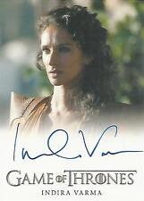 "Game of Thrones Season 5 - Indira Varma ""Ellaria Sand"" Autograph Card"