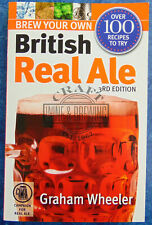 CAMRA Brew Your Own British Real Ale By Graham Wheeler Homebrew Recipe Book