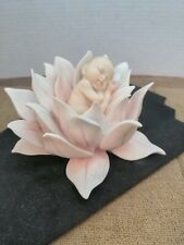 Florence G. Armani Collectible Figure Water Lily Baby 7542c Made In Italy 2004