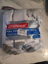 Enerwear-Extreme Sports Collection Pack Men's Cotton Moisture W (10 Pair)
