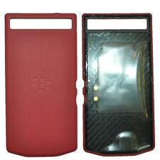 New Porsche Design leather Battery Door Cover Red for Blackberry P'9982