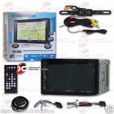 "SOUNDSTREAM VRN-65HB 6.2"" LCD DVD GPS BLUETOOTH STEREO FREE LICENSEPLATE CAMERA"