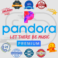 Pandora Premium Subscription Account 📻 Lifetime Warranty 😲 Instant Delivery