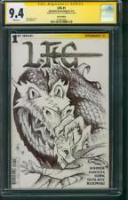 Game of Thrones 1 CGC SS 9.4 Cat Conrad LFG Lord of Rings art sketch Variant