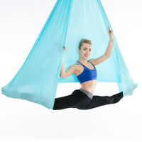 Aerial Yoga Hammock Only Yoga Hanging Swing Premium Silks Pilates Bodybuilding
