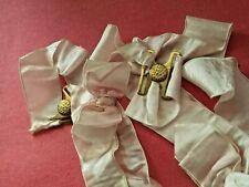 mercerie ancienne-lot de 2 paquets de 4 bouts de jarretelles