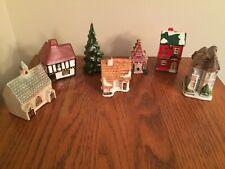 Set of 6 Miniature Houses