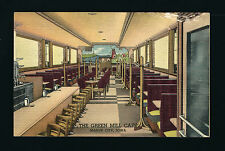 Mason City Iowa IA c1940s GREEN MILL CAFE Interior, Booths, Lunch Counter