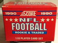 1990 Score Supplemental Rookie And Traded Set Emmitt Smith Rookie