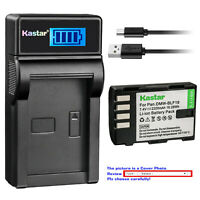 Kastar Battery LCD USB Charger for Panasonic DMW-BLF19 BLF19E & Lumix DMC-GH3GK