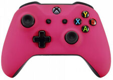 Pink Soft Touch Xbox One S / X Custom UN-MODDED Controller Soft Touch Finish
