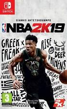 Promotion NBA 2k19 for Switch