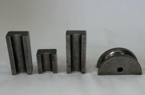 "Bending tooling package- 1-5/8"" 3"" Radius die 1 pc half shoe 1pc back shoe 1pc"