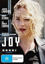 JOY - BRAND NEW & SEALED R4 DVD (JENNIFER LAWRENCE, DE NIRO, BRADLEY COOPER)