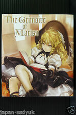 JAPAN Touhou Project The Grimoire of Marisa ZUN w/CD-ROM
