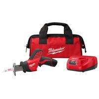 Milwaukee 2420-21 M12 Li-Ion HACKZALL Reciprocating Saw 1-Battery Kit New