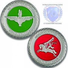 Army Challenge Silver Coin Medal - 3 Para Challenge Coin