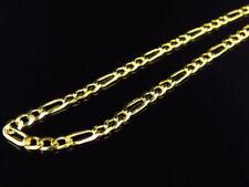 Collares y colgantes de joyería cadenas amarillos de plata de ley