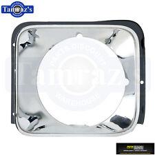 76 Nova Concourse HeadLight HeadLamp Head Light Lamp Chrome Bezel Trim Door LH