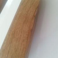 Massivholz solid wood Lackierte Griffe Walnuss 128-96-64mm Schubkasten NEU Küche