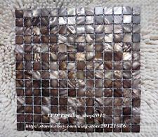 Coffee Shell Mosaic Tile Background Wall Tile Bathroom Kitchen Backsplash Tile