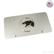 Mercury Cougar Chrome Logo On Stainless Steel Plate