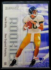 2000 Skybox Impact Tom Brady Rookie #27 RC New England Patriots / Buccaneers