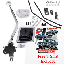 Hurst Ford Mustang 1965-1973 3 Speed MasterShift Shifter & Linkage Kit,  FREE T