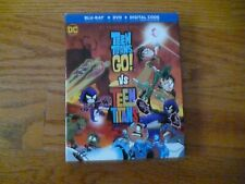 Teen Titans Go! Vs Teen Titans (Warner Brothers blu-ray + dvd + digital copy)