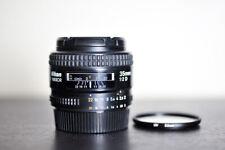 Nikon AF 35mm F2 D Prime FX Lens w/ UV Filter - US Model!