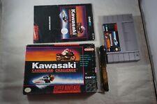 Kawasaki Caribbean Challenge (Super Nintendo SNES) Complete in Box FAIR